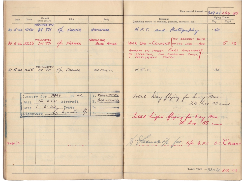 Gwyn Martin logbook 038