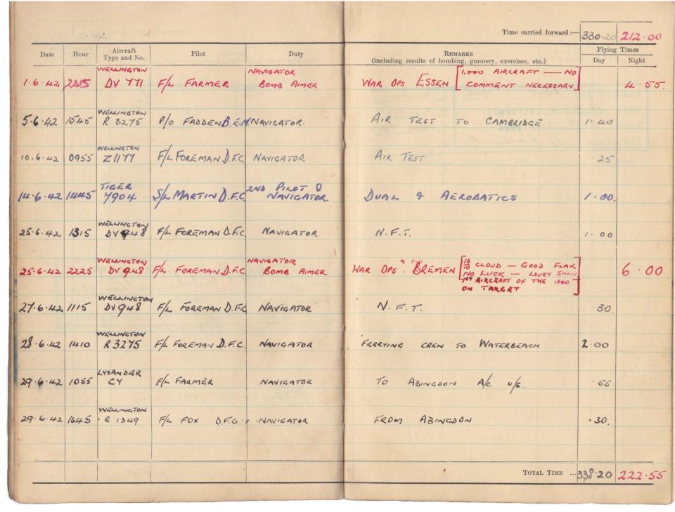 Gwyn Martin logbook 039