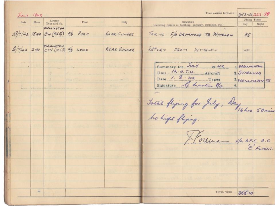 Gwyn Martin logbook 043