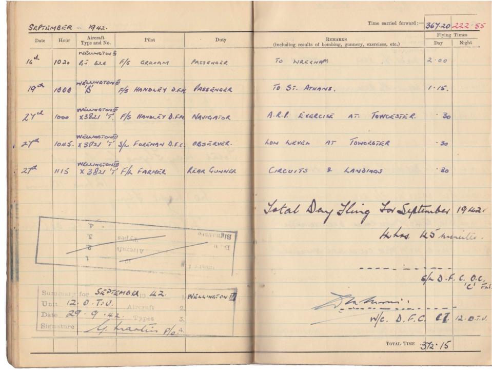 Gwyn Martin logbook 046
