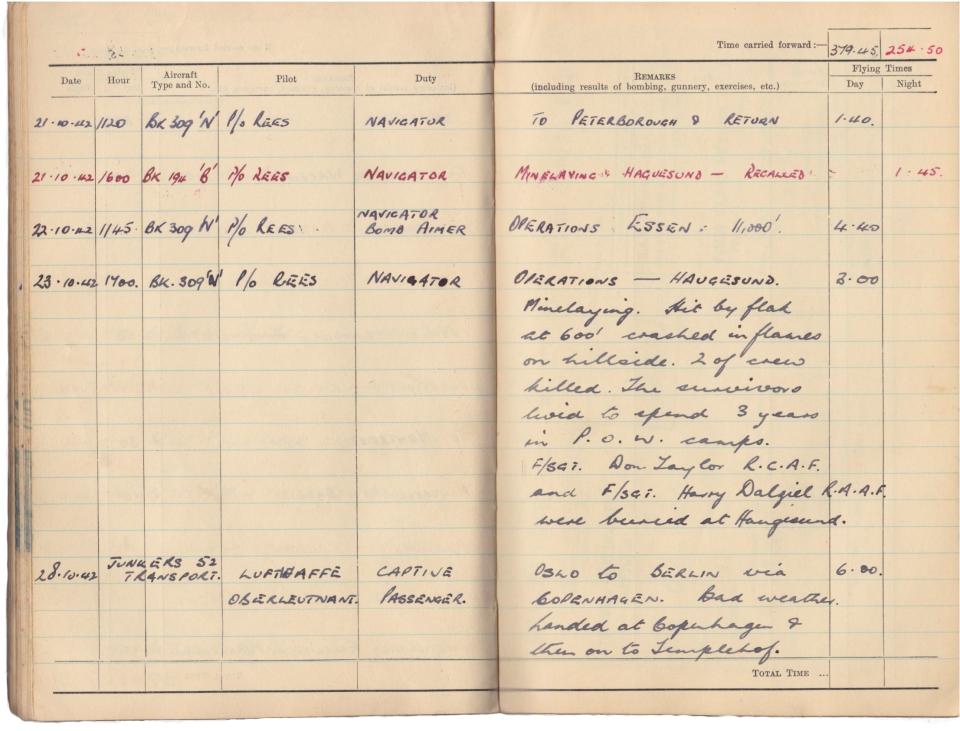 Gwyn Martin logbook 048