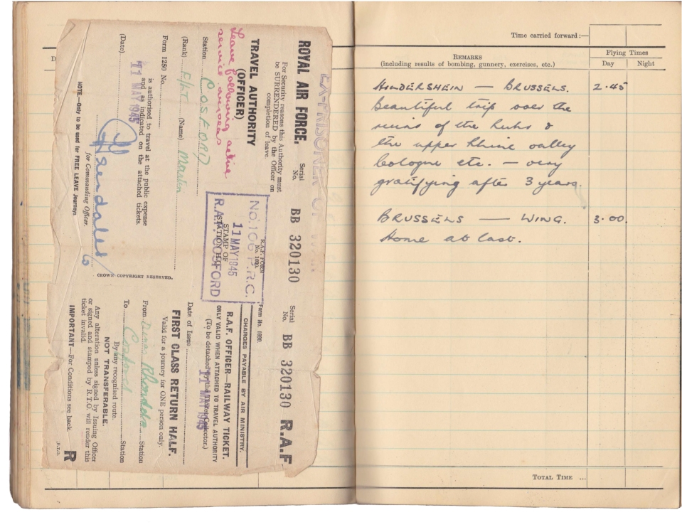 Gwyn Martin logbook 049