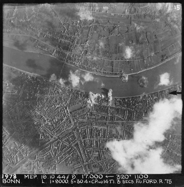 Target photo Bonn 18-10-44 'R'