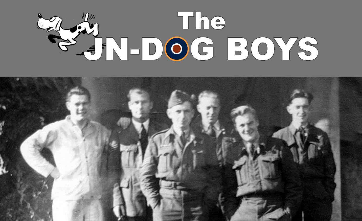 The JN-Dog Boys The story of a crew in 75(NZ) Squadron RAF